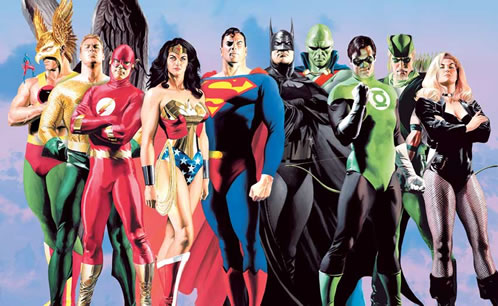 La Liga de la Justicia por Alex Ross